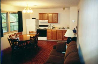 picture of inside of cabin AR,arkansas,fishing,resorts,trout fishing,trout,flying fishing,fishing guides,lodging,accommodations,cabins,rv campground